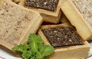 Millionairs Mini Pecan Tart-Close Up